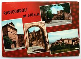 RADICONDOLI (SIENA) - Vedutine - Siena
