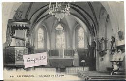Le PISSOUX Intérieur De L'Eglise - Andere Gemeenten