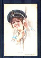 Carte Illustrée. All's Well. Water Color Serie N°381 - 1900-1949
