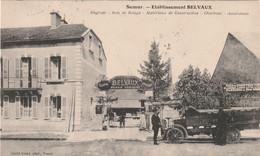 21/ Semur - Etablissement BElVAUX  - Engrais - Bois De Sciage - Matériaux De Construction- Charbons - Assurances - Semur