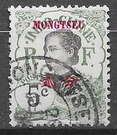 1908 : Timbres D'Indochine De 1907 Avec Mong Tseu : N°37 Chez YT. (Voir Commentaires) - Oblitérés