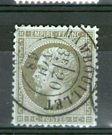 N° 19°_RAMBOUILLET_CaD De 23mm_20/11/68_tres Bon Centrage_cote 45.00 - 1862 Napoléon III.