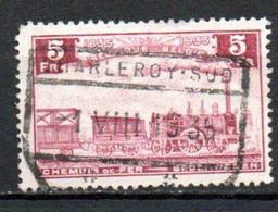 TR 191 Gestempeld CHARLEROY SUD - 1923-1941