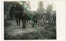 14-18.WWI Fotokarte - 14.Reserve Division. 09-1916.Pferdekutsche Nach Borken Westfalen Heimatbeleg - 1914-18