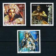 Polinesia Francesa Nº 837/9 Nuevo - Ungebraucht