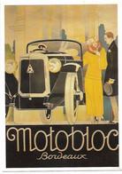 CPM - CENTENAIRE Editions - L'AUTOMOBILE FRANCAISE - 7 - MOTOBLOC - Bordeaux, Par René Vincent - 1900-1949