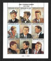 MALI 1997 KENNEDY YVERT N°975/83 NEUF MNH** - Kennedy (John F.)