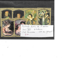 TCHAD ROI DE FRANCE 6 VALEURS LOUIS 13 ** POSTE AERIENNE - Koniklijke Families