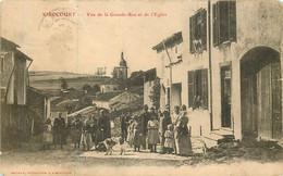XIROCOURT La Grande Rue Et L'église - Other Municipalities