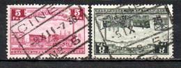 TR 191 + 194 Gestempeld CINEY N°5 - 1923-1941