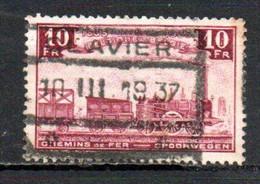 TR 196 Gestempeld CLAVIER - 1923-1941