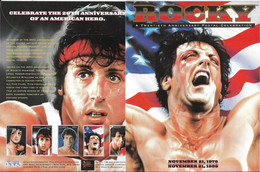 PACK 1996 5 FEUILLETS ROCKY-SYLVESTER STALLONE  YVERT N° NEUF MNH** - Acteurs