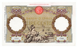 Italia - 100 Lire 1940 - Aquila - 100 Lire