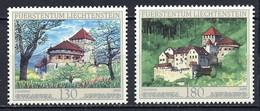 Liechtenstein 2009 Y&T N°1463 à 1464 - Michel N°1522 à 1523 *** - Château De Vaduz - Unused Stamps