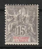 Sénégambie-et-Niger 1903 , YT 6 * , Cote 15,00 - Unused Stamps