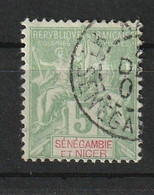 Sénégambie-et-Niger 1903 , YT 4 ° , Cote 7,00 - Used Stamps