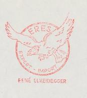Meter Cover Netherlands 1966 Bird Of Prey - Unclassified