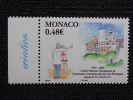 MONACO 2005 Y&T N° 2482 ** - CINQUANTENAIRE DU COMITE NATIONAL MONEGASQUE - Neufs