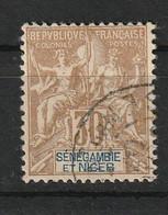 Sénégambie-et-Niger 1903 , YT 9 ° , Cote 17,00 - Used Stamps