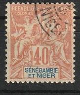 Sénégambie-et-Niger 1903 , YT 10 ° , Cote 25,00 - Used Stamps