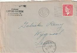 OCB 910 Op Firma Envelop Turnhout 1953 - Storia Postale