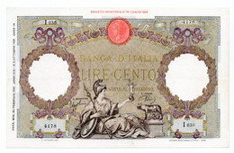 Italia - 100 Lire 1942 - Aquila - 100 Lire