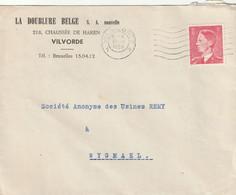 OCB 910 Op Firma Envelop Vilvoorde 1953 - Storia Postale