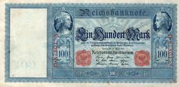 GERMANIA-100 MARK 1910  P-42/1  XF++ - 100 Mark