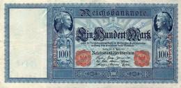 GERMANIA-100 MARK 1910  P-42/2  XF++ - 100 Mark