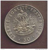 HAITI 50 CENTIMES 1991 Charlemagne Peralte KM# 153 - Haiti