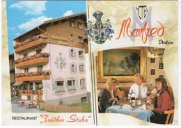 CPSM AUTRICHE ST ANTON A. ARLBERG  Hôtel Manfred Extérieur Et Intérieur - St. Anton Am Arlberg