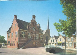 Oud - Beijerland, Oude Raadhuis   (Een Raster Op De Kaart Is Veroorzaakt Door Het Scannen; De Afbeelding Is Helder) - Unclassified