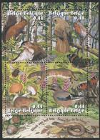 Z0255 - BELGIE - BELGIUM - 2004 - BLOK 115 - WEEK VAN HET BOS - WEEK OF THE FOREST - ANIMALS - VELLETJE - SHEET - Nuovi