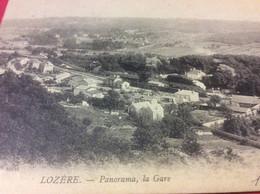 ♥️ LOZÈRE. Panorama. La Gare - Non Classés