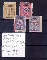 Türkey Sultanreise Monastir Michel N° 203IA, 205IA, 206IA, 207IA - Nuevos