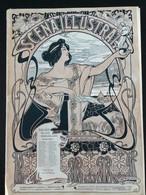 SCÈNA ILLUSTRATA    JUILLET 1899» LITTÉRATURE, ART,SPORT»Edit PILADE POLLAZZI, Couverture C.CASALTOLI. (ART NOUVEAU ) - Sonstige