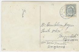 Fantasiekaart Met OCB 81- Afstempeling RECKHEIM - COBA 8 - 1893-1907 Wappen