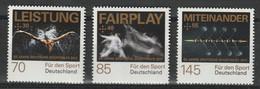 Bund 3307/3309 Postfrisch - Sport 2017 Deutsche Sporthilfe - Ongebruikt