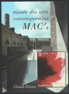 Z0256 - BELGIE - BELGIUM - 2008 - BLOK 150 - MUSEE DES ARTS - GRAND HORNU - JOSE MARIA SICILIA - SHEET - Nuovi