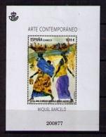 ESPAÑA 2014 - ARTE CONTEMPORANEO - MIQUEL BARCELÓ - BLOCK - EDIFIL Nº 4898 - 2011-... Neufs