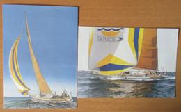 France - 2 Entiers Postaux - Grandes Cartes Postales 1992 - Christophe Colomb / America 1507 - Neufs - Lots Et Collections : Entiers Et PAP