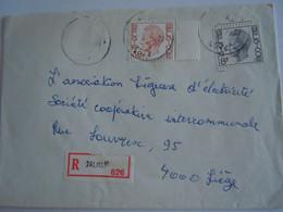 Belgiê Belgique Brief Recommandée Elström 1979 Dalhem - Liege - 1970-1980 Elström