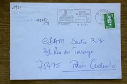 58 Nièvre - Flamme 1991 - CLAMECY - Arrivée Du Gaz Naturel 21 Sept 1991 - Oblitérations Mécaniques (flammes)