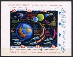 RUSSIE BLOC 35a** Papier Laqué - Blocs & Feuillets