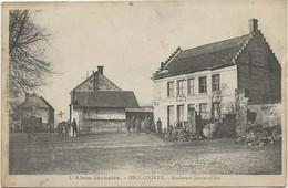 OSLY - COURTIL -L'AISNE DEVASTEE - OSLY - BOULEVARD JEANNE - D'ARC - ANNEE 1918 - Autres Communes