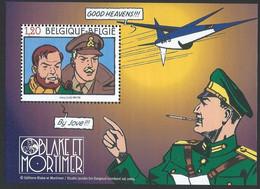 Z0258 - BELGIE - BELGIUM - 2004 - BLOK 112 - BLAKE & MORTIMER - STRIP - COMIC - VELLETJE - SHEET - Nuovi