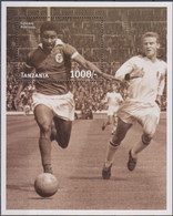 Soccer World Cup 1998 - TANZANIA - S/S MNH - 1998 – Frankrijk