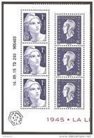 2015 -N° 4986 4987 -Coin Daté (6 Timbres ) Du Bloc LIBERATION -NEUF ** LUXE ( 3 Gandon +3 Dulac ) Faciale=6.00 - Ungebraucht
