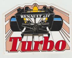 RENAULT - Turbo  - Autocollants - Otros