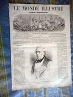 LE MONDE ILLUSTRE 26/01/ 1867 REGENT PARK PATINEUR PARIS INDE CHALES KASHMYR TYROL ALGERIE BLIDAH CANAL AIX VERDON QUINS - 1850 - 1899